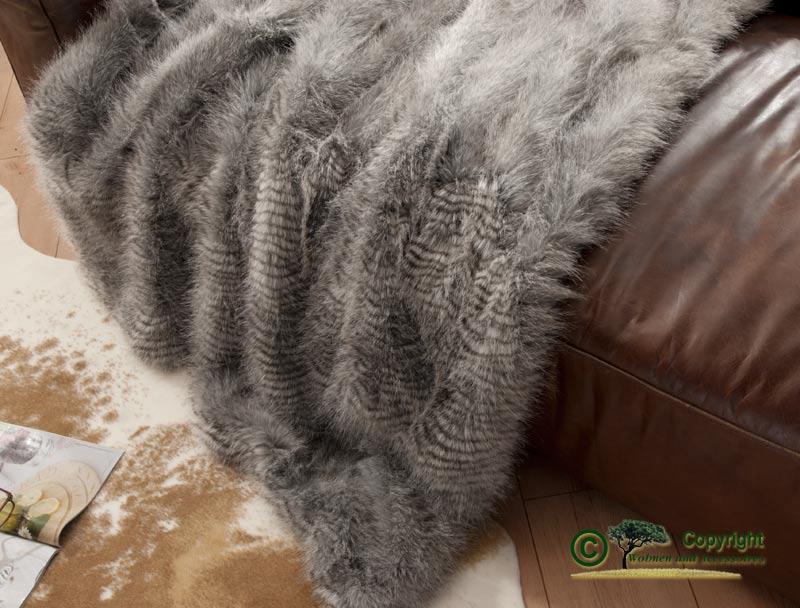 felldecke webpelzdecke waschb r 220x240cm ebay. Black Bedroom Furniture Sets. Home Design Ideas