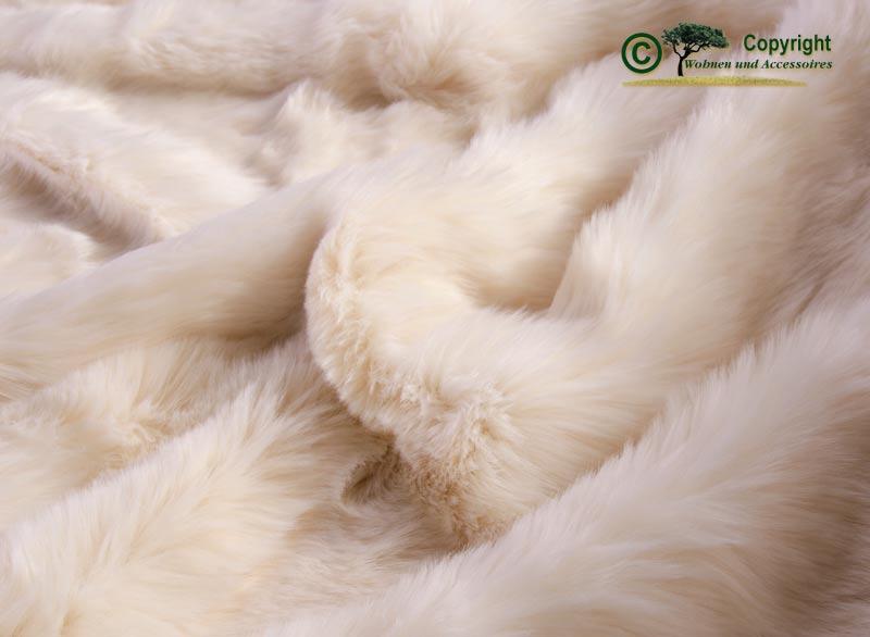 gro e felldecke webpelzdecke kaninchen 220x240cm ebay. Black Bedroom Furniture Sets. Home Design Ideas