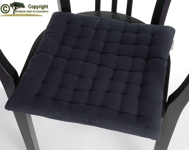 Linum-Sitzkissen-Stuhlkissen-Sitzpolster-Schwarz-H01