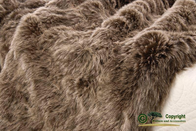 gro e felldecke tegesdecke webpelzdecke grizzly b r 170 ebay. Black Bedroom Furniture Sets. Home Design Ideas