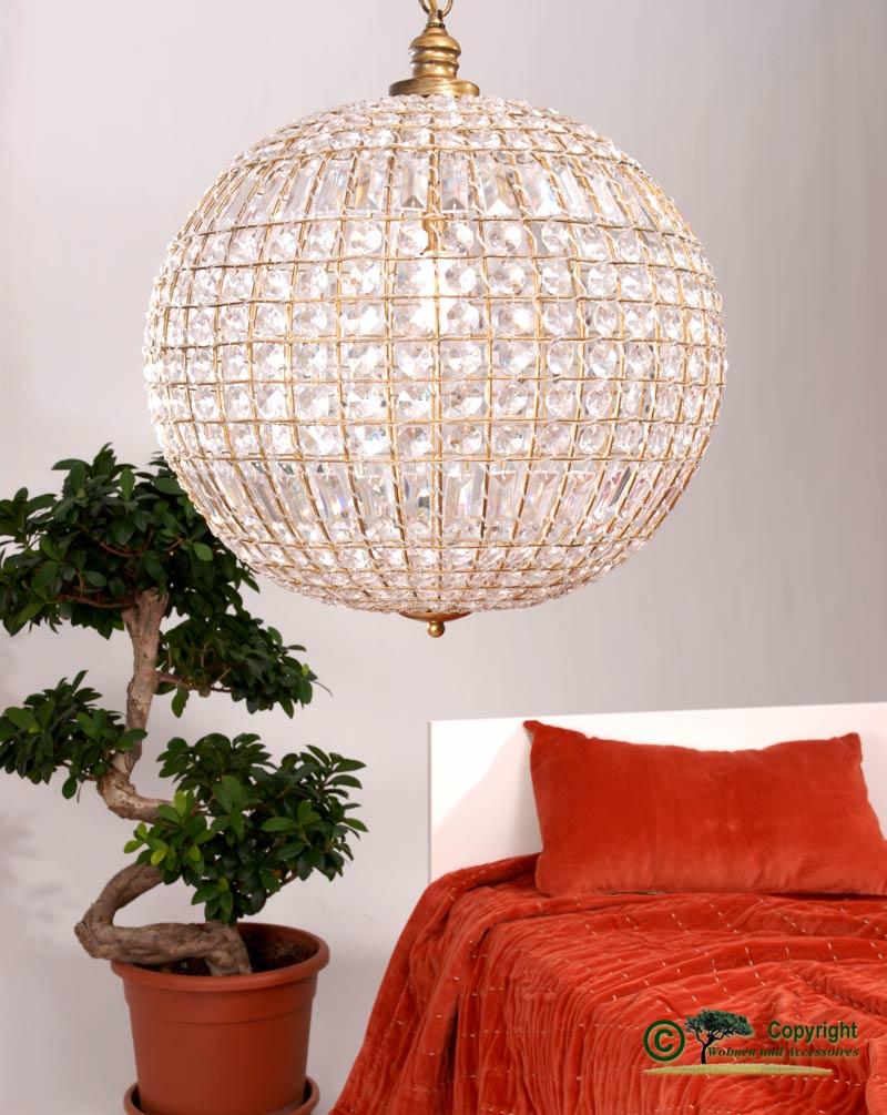 h ngelampe antik optik gro e kugelleuchte kugellampe durchm 50cm. Black Bedroom Furniture Sets. Home Design Ideas