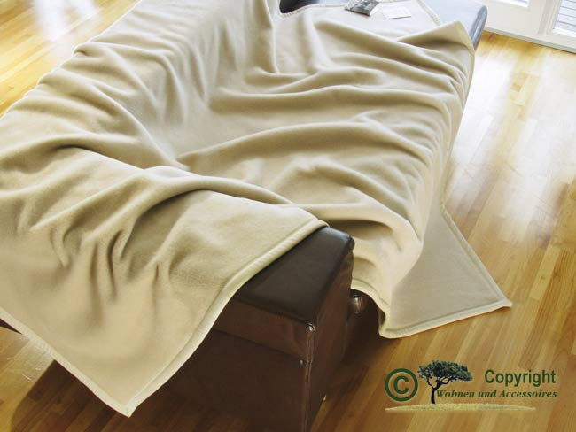 edle wolldecke 100 kaschmir kaschmirdecke creme 220 ebay. Black Bedroom Furniture Sets. Home Design Ideas