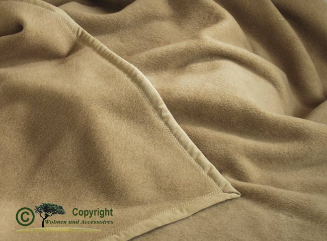 edle wolldecke 100 kaschmir kaschmirdecke kamel ebay. Black Bedroom Furniture Sets. Home Design Ideas