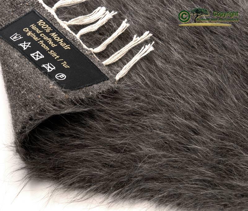Ziegenhaarteppich teppich mohair ziegenhaar grau 240 ebay for Wohnen und accessoires