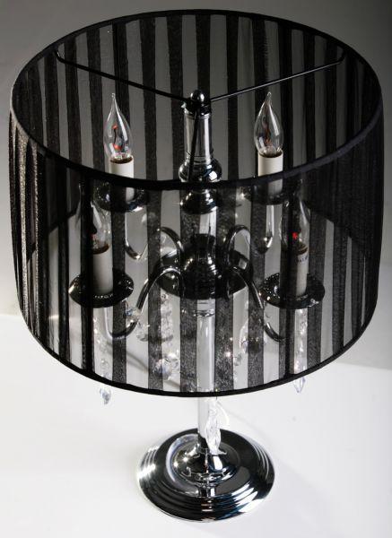 Tischlampe Nachttischlampe Kronleuchter Organza Schwa Ebay